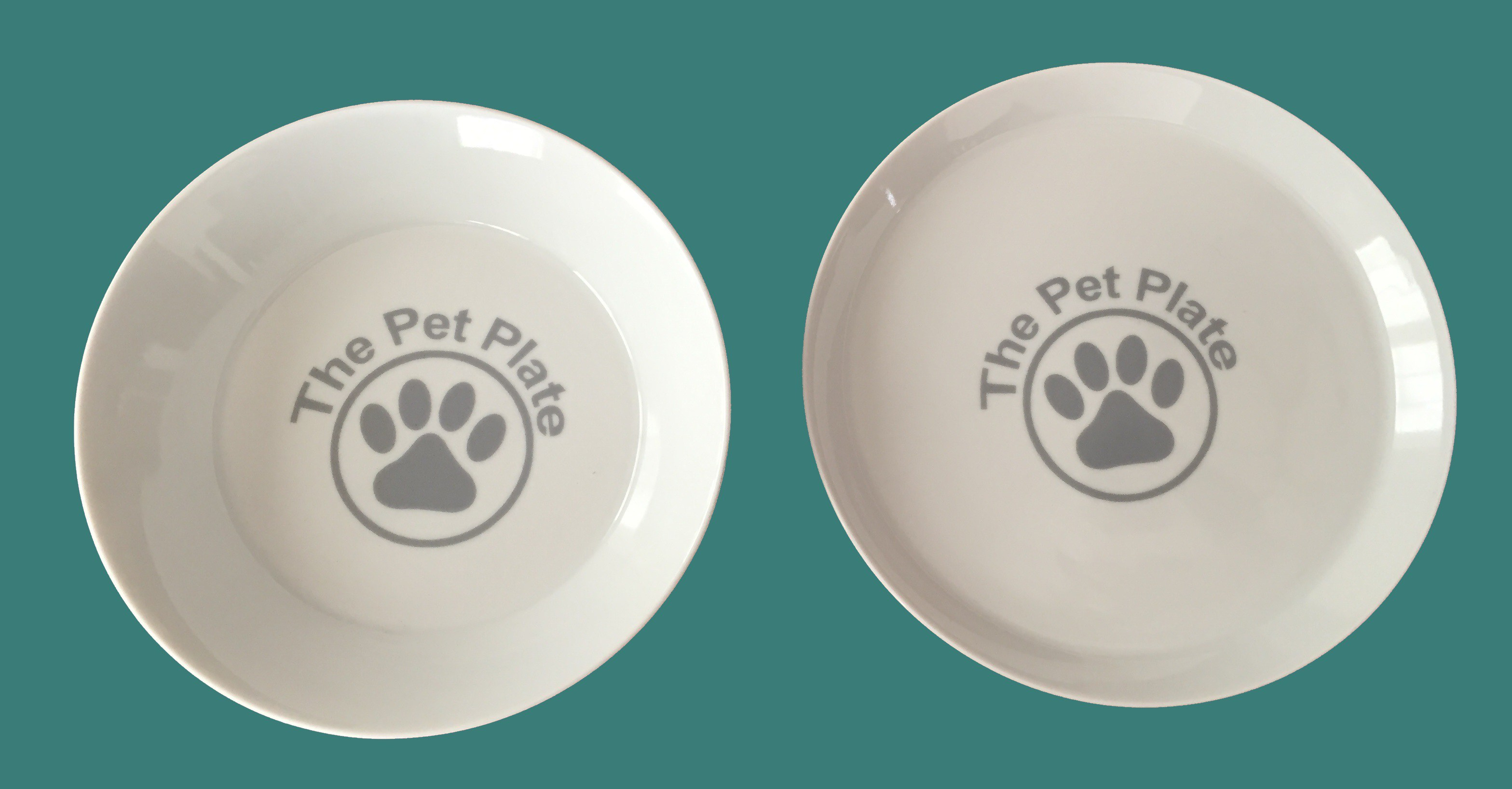 The Pet Plate Feeding System blue
